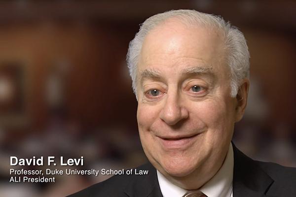 David F. Levi in Visionaries Documentary
