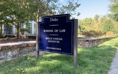New class of judges begins Duke Law Master of Judicial Studies program