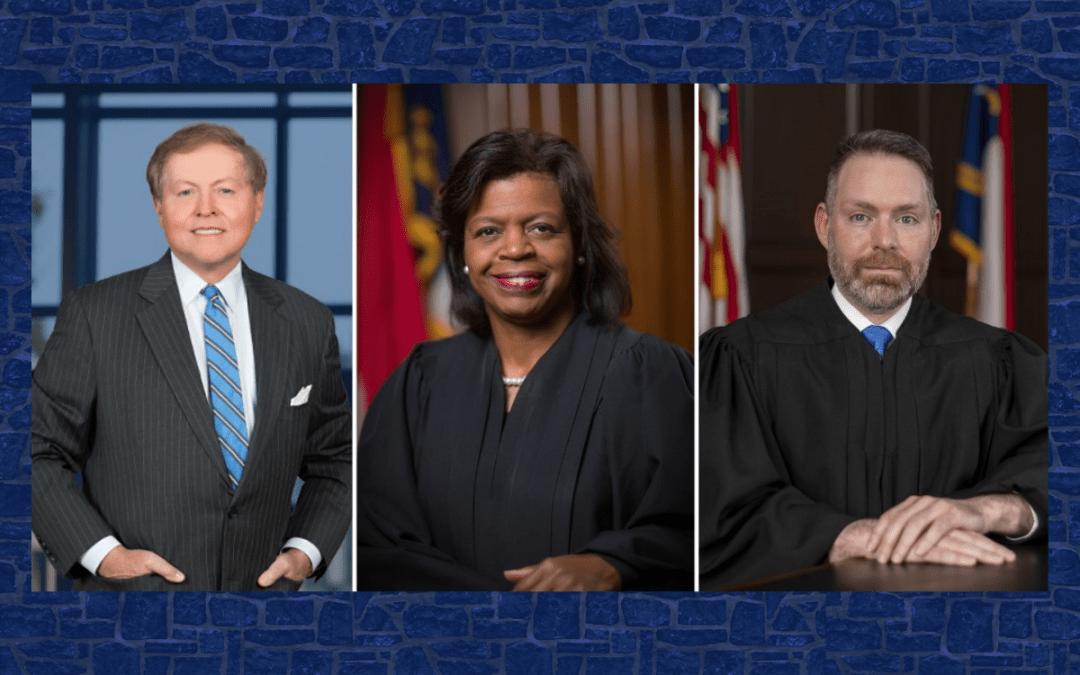 Wester '72, Beasley MJS '18, and Dietz MJS '20 to receive Citizen Lawyer awards (ncbar.org)